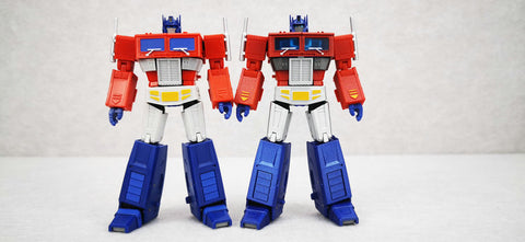 Magic Square MS-Toys MS-B18X MSB18X Light of Justice (Optimus Prime OP, Legends Class w/ trailer)Metallic Version 11cm, 4.5""