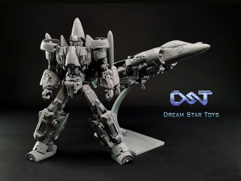 "【Pre-Order】Dream Star Toys  DST01 DST-01 Encourager Combiner ( Aerialbots , Superion) Metallic Version 53cm (22"") DreamStarToys"