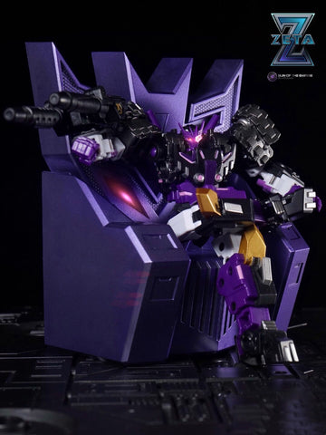 Zeta Toys ZT Scenery Kit Megatron Throne with LED and Bar set (for Deluxe and Legends Class) Upgrade Kit