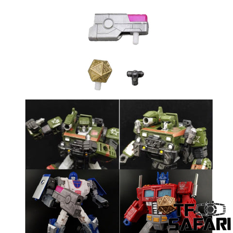 Shockwave Lab SL-95 SL95A/B/C Weapon set for WFC Earthrise Autobots Upgrade Kit
