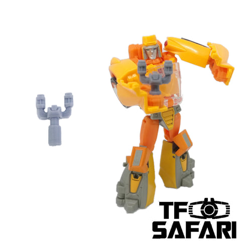 【Incoming】GX-02 Slingshot for Transformers Titans Return Wheelie Weapon Set