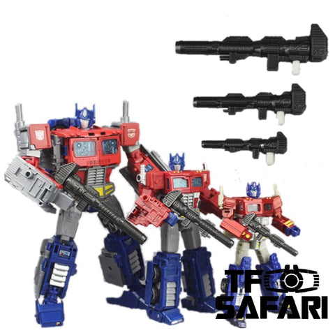 Matrix Workshop M13 Ion Blasters D / V / L Class for Optimus Prime Weapon Set Upgrade Kit
