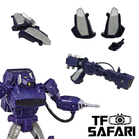 【Pre-Order】Go Better Studio GX-12 Upgrade Kit Laser Gun Mode for WFC Siege Shockwave Upgrade Kit