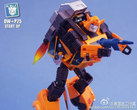 Dr.Wu DW-P25 Start Up Upgrade Kit for MP21 Bumblebee Dr Wu Upgrade Kit