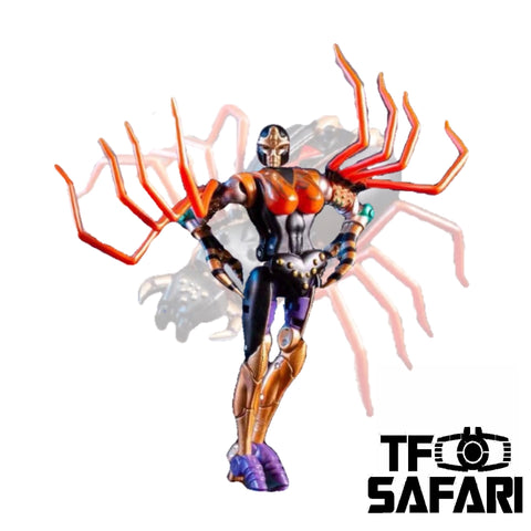 【Incoming】Transform Element TE MM001 TE-MM001 Blackarachnia (Legend Class) 8cm / 3.5""
