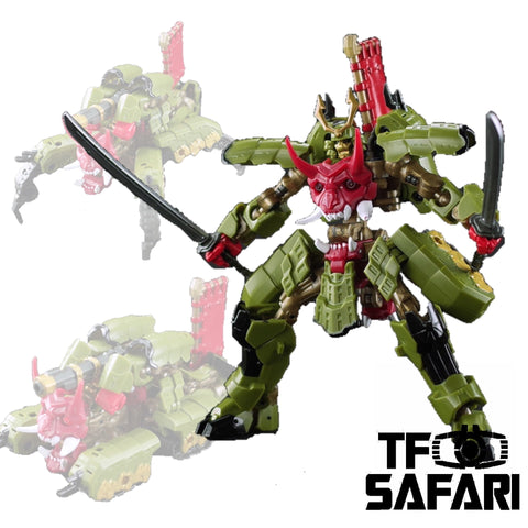 Iron Factory IF EX-46 EX46 Iron Samurai Honekumoki (Bludgeon)