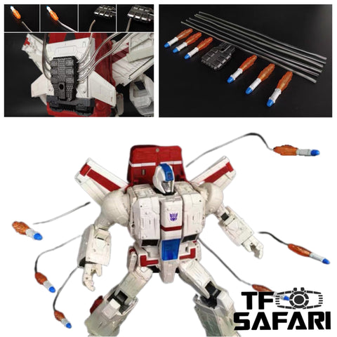 Shockwave Lab SL-98 SL98 Missles Upgrade Kit for Siege Jetfire Upgrade Kit