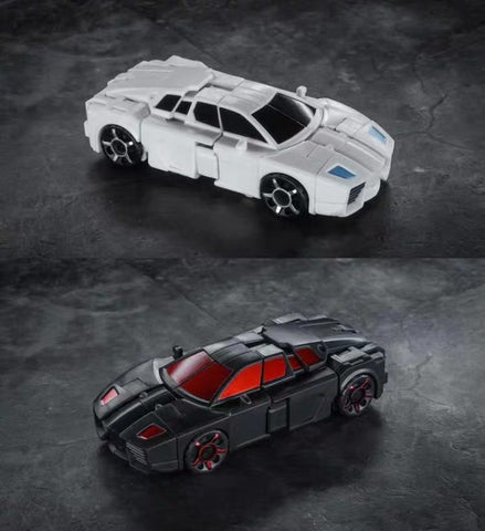 Iron Factory IF EX-26R EX26R Racing Brothers Retrograde (Runabout and Runamuck Battlechargers) 2 in 1 set  9cm