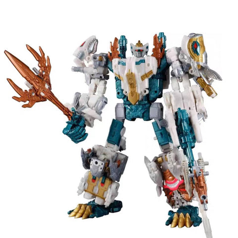 Takara Tomy Generation Selects TT-GS10 God Neptune (King Poseidon Seacons Repainted Version )