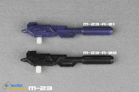 Matrix Workshop M23 M-23 for WFC Siege Astrotrain Weapon Set Upgrade Kit