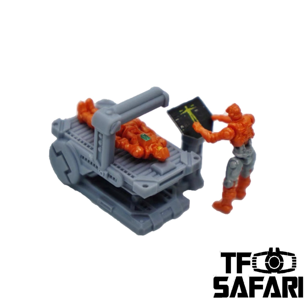 FEITE FTDC-03 Examination Bed for Dia-Nauts (Diaclone Personnels ) Diaclone Upgrade Kit