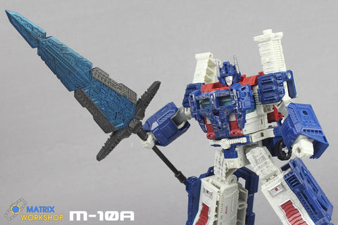 Matrix Workshop M-10A M10A Siege Ultra Magnus Giant Sword Upgrade Kit