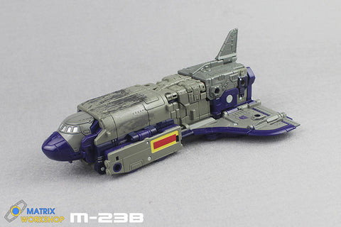 Matrix Workshop M23B M-23B Tail fin for WFC Siege Astrotrain Upgrade Kit