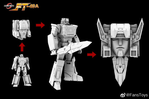 【Pre-Order】 FansToys FT-40A FT40A Cerebros (Fortress Maximus's Head, MP size) Fans Toys 24cm / 10""