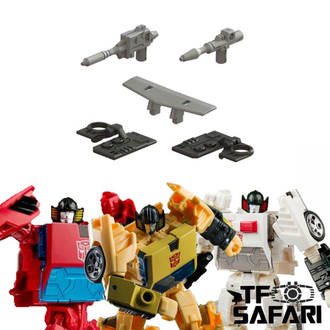 【Incoming】Matrix Workshop M-42 M42 Upgrade kit for WFC Earthrise Sunstreaker / Spin out / Cordon Upgrade Kit (Painted)
