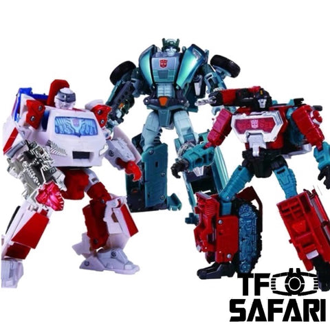 Transformers Henkei Classics Autobot Warriors Ratchet Kup Perceptor 3 in 1 Pack
