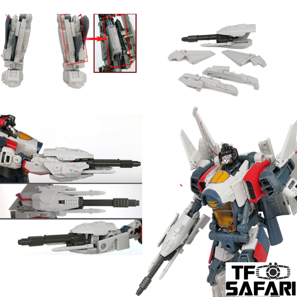 Go Better Studio GX-13 Gap Filler and Arm Weapon for Studio Series SS65 Blitzwing Upgrade Kit
