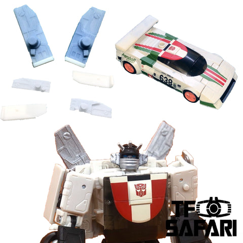 SKW-04 Replaceable Tail Wing for WFC Earthrise Wheeljack Upgrade Kit