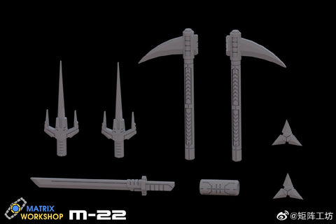 Matrix Workshop M22 M-22 WFC Siege Deluxe Nightbird Weapon Set Upgrade Kit