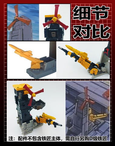 115 Workshop YYW-07 YYW07 Upgrade Kit for Earthrise Ironworks Upgrade Kit.