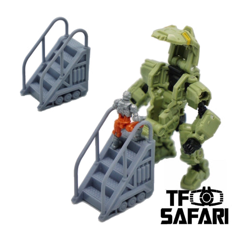【Pre-Order】FEITE FTDC-04 Boarding Staircase for Dia-Nauts (Diaclone Personnels ) Diaclone Upgrade Kit