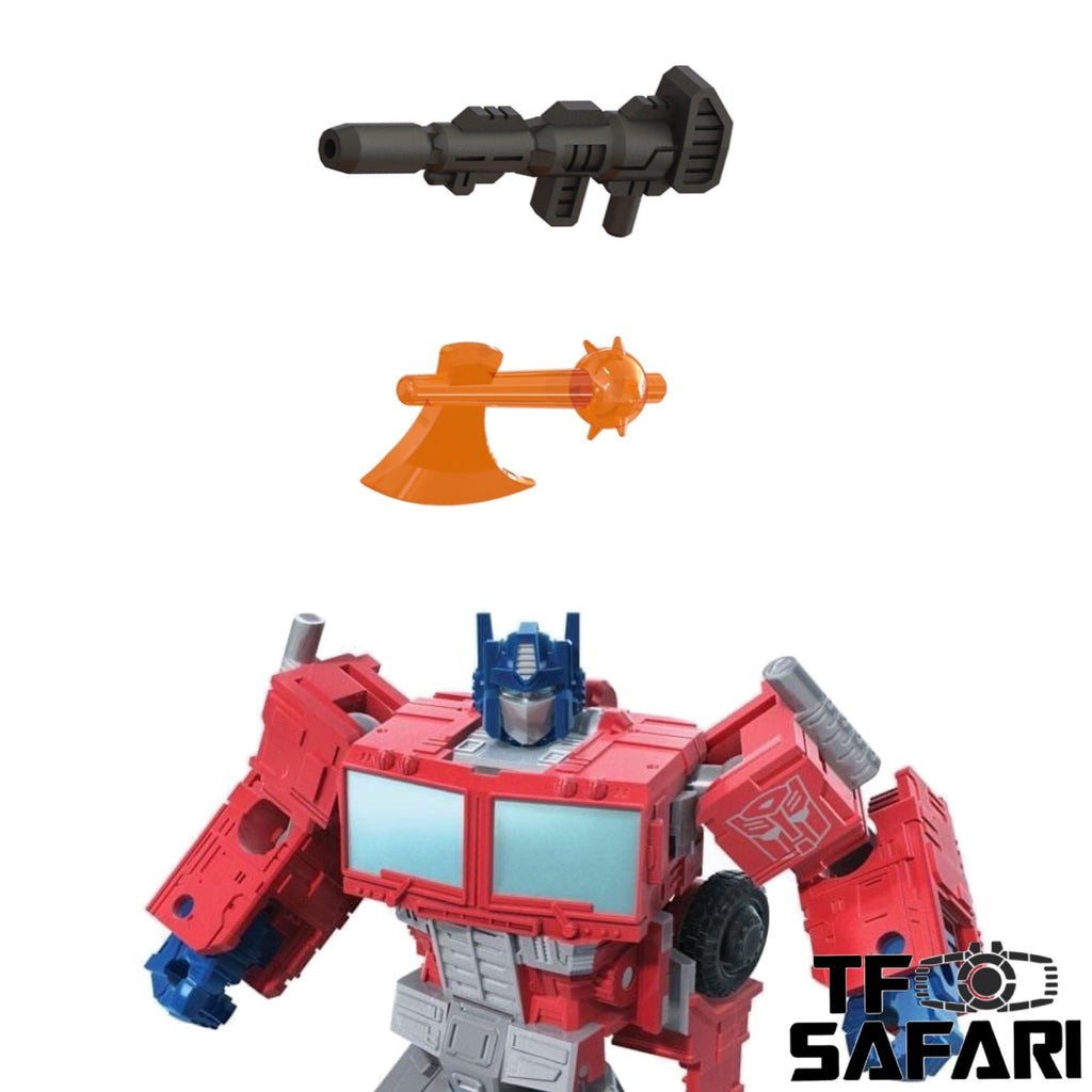 Matrix Workshop M-47 M47 Weapon set for WFC Kingdom Optimus Prime Upgrade Kit (Painted)