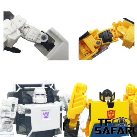 Shockwave Lab SL-GF21 SL-GF22  Hip Gap Fillers for Earthrise Runamack & Sunstreaker Upgrade Kit