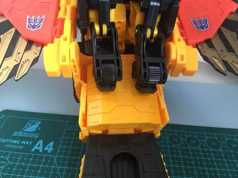 Shockwave Lab SL-37 SL37 Upgrade Kit for Power of the Primes POTP-31 Predaking Upgrade Kit