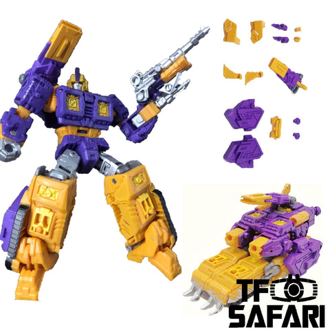 Go Better Studio GX-05 Uptrade Kit for WFC Siege Impactor ( Upgrade Kit+ Gap Fillers)