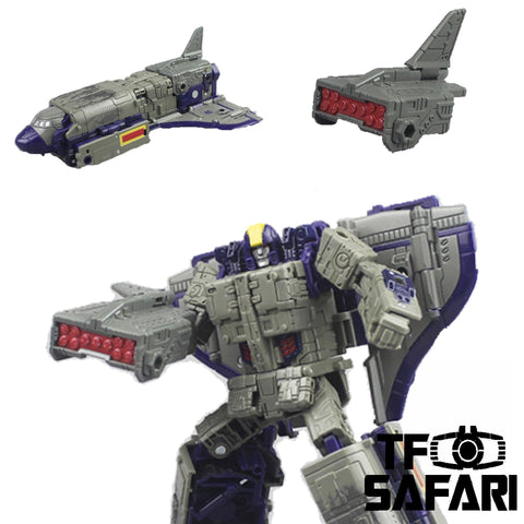 【Pre-Order】Matrix Workshop M23B M-23B Tail fin for WFC Siege Astrotrain Upgrade Kit