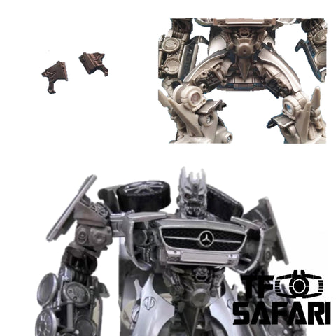 Shockwave Lab SL-GF13 Hip Gap Fillers for Studio Series SS-51 DOTM Soundwave Upgrade Kit