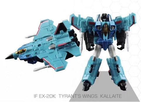 "Iron Factory IF EX-20K EX20K Wing of Tyrant Kallaite 9cm / 3.54"" IronFactory"