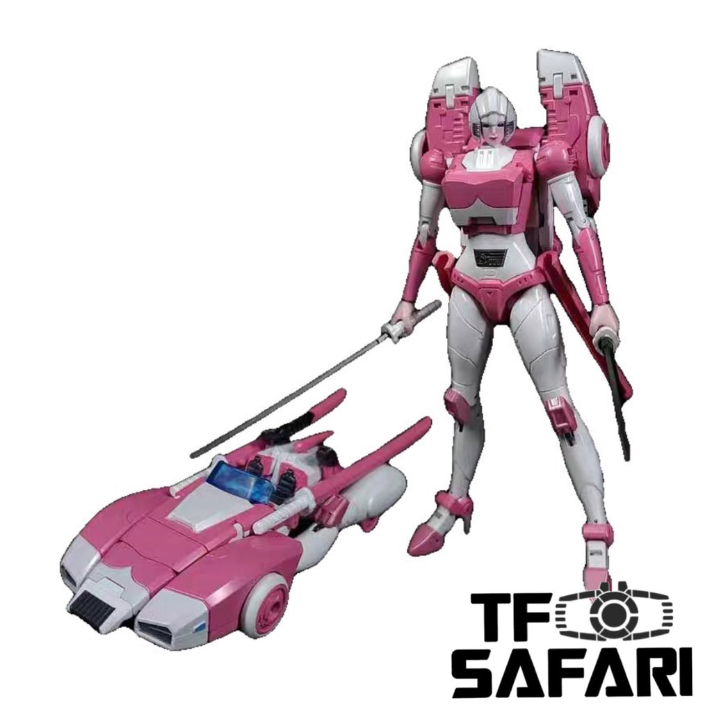 Zeta Toys ZT EX-05 EX05 Arc ( Arcee) Pearl Paint Version 20cm / 8""