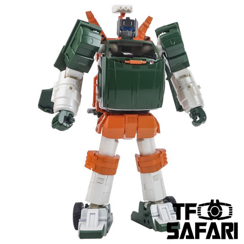 Xtransbots XTB MX-9T MX9T Paean (Hoist, MP Scale) Cartoon Version X-transbots 20cm/8''