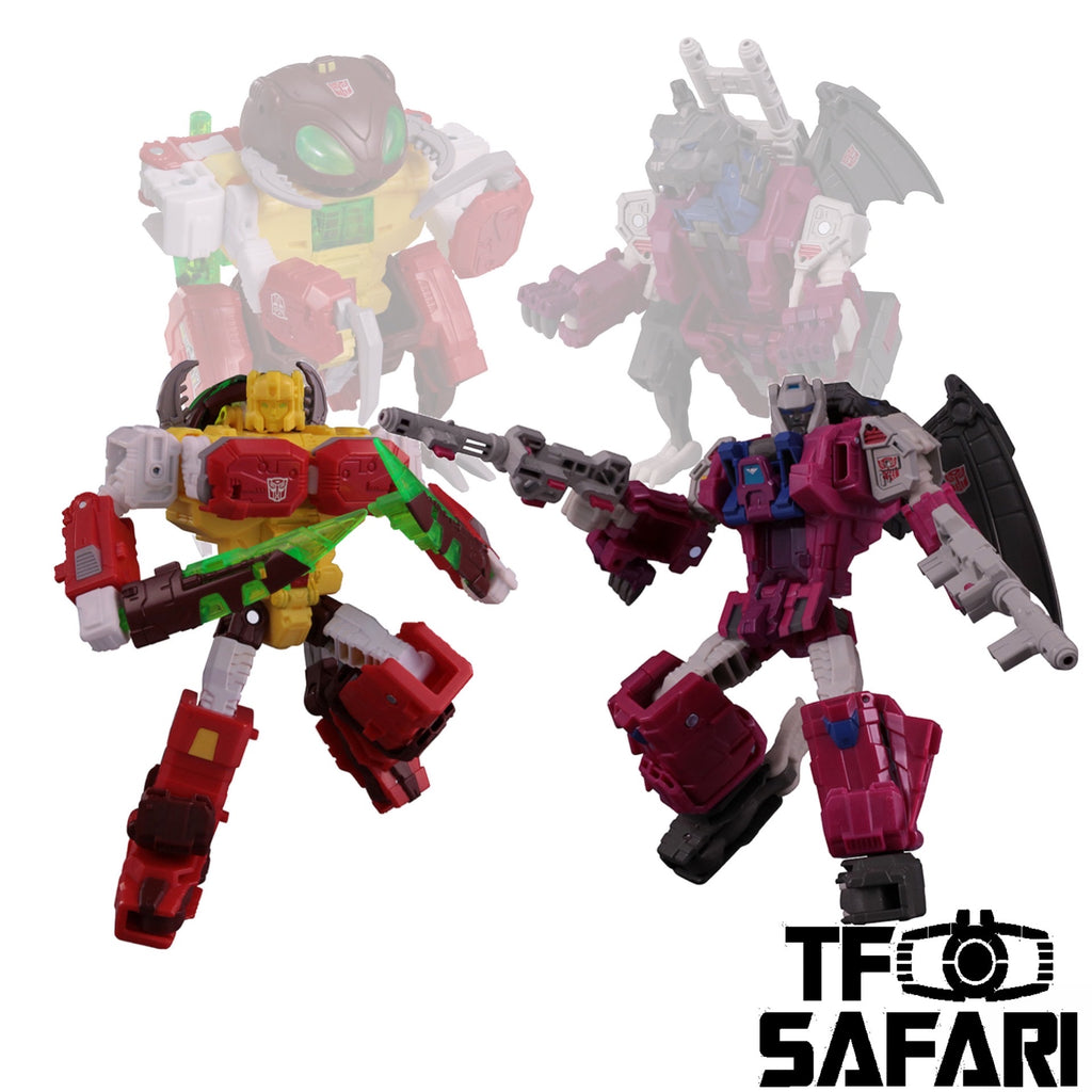 Takara Tomy LGEX LG-EX Grotusque and Repugnus Exclusive 2 in 1 set Transformers Legends