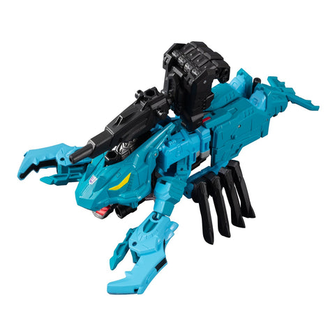 Takara Tomy Generation Selects King Poseidon Seacons Nautilator / Lobclaw Exclusive (Piranacon King Poseidon)