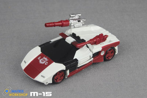 Matrix Workshop M15 M-15 Siege Deluxe Red Alert Weapon Set Upgrade Kit