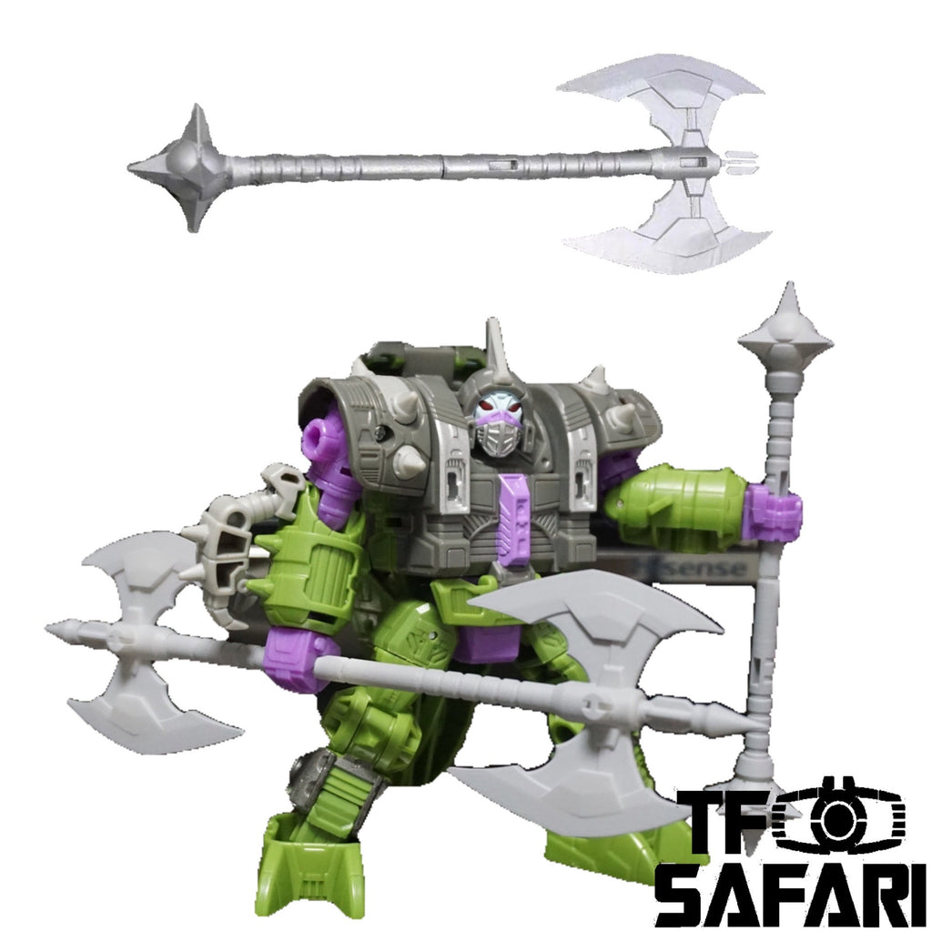 Tim Heada TH019 Double Edged Axe for WFC War for Cybertron Earthrise WFC-E19 Quintesson Allicon Upgrade Kit