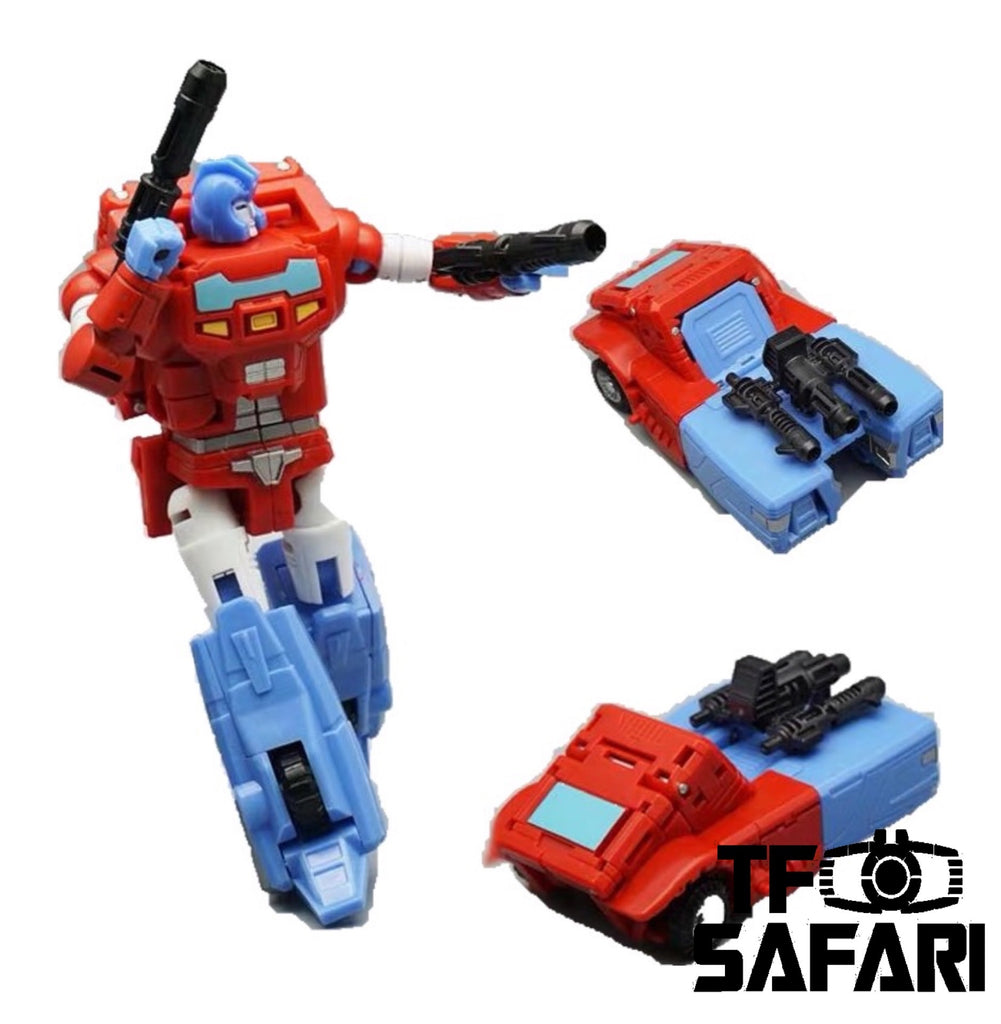 Mechfanstoys MFT Diaclone Blue//Green//Red//Yellow//White 4 soliders,In stock!