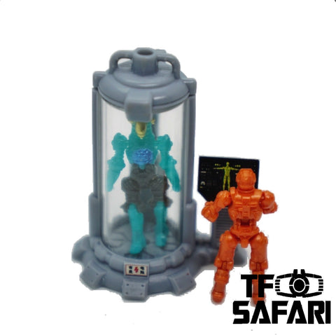 【Pre-Order】FEITE FTDC-05 Curing Capsule for Dia-Nauts (Diaclone Personnels ) Diaclone Upgrade Kit