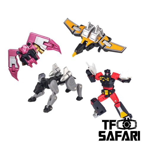 Magic Square MS-Toys MS-B28 MSB28 Cassette Soldiers for MS-B27 & B27B (Soundwave Legends Class)