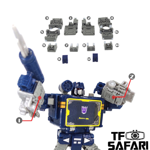 【Incoming】Go Better Studio GX-19 GX19 Upgrade Kits for WFC Earthrise Soundwave Upgrade Kit