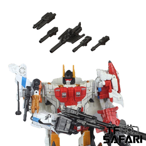 【Pre-order】Matrix Workshop M-45 M45 Weapon Set for CW Combiner Wars Superion Upgrade Kit