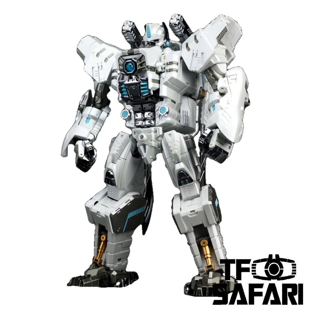 Generation Toy GT-10A GT10A Gorilla (BW Optimus Primal ) Chrome White Version 25cm / 10""
