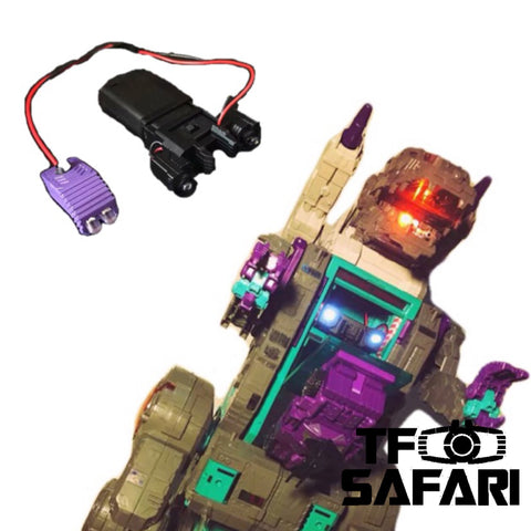 Shockwave Lab SL-43 SL43 LED Upgrade Kit for Titans Return Trypticon Upgrade Kit