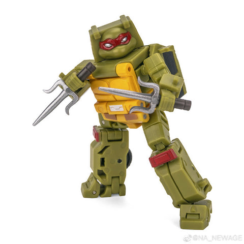 NA NewAge H19N H-19N Pizzeria (after TMNT) 4 in 1 set New Age 8cm / 3""