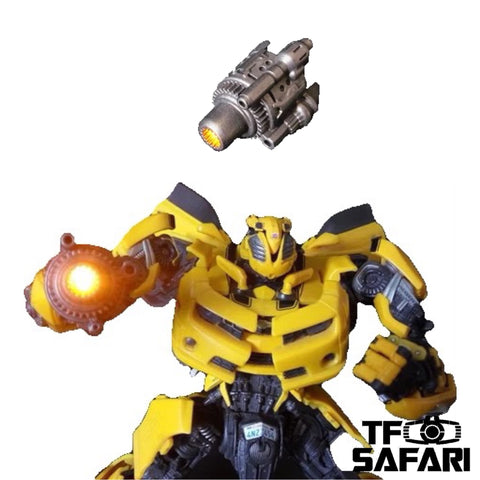 Shockwave Lab SL-20 SL20  Glowable Hand Cannon for MPM03 Bumblebee Upgrade Kit