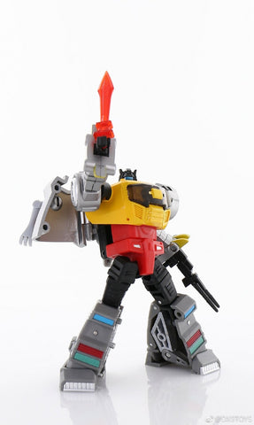 DX9 Toys War in Pocket Dinobots 5 in 1 Gift Set 10cm / 4""