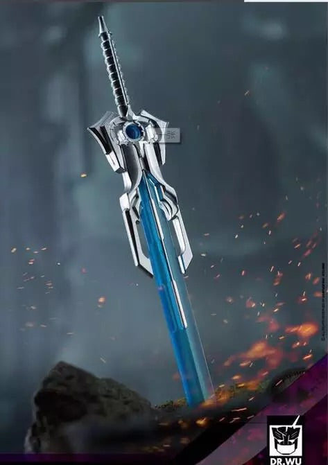 Dr.Wu DW-P35 Prime Sword Blue & Silver Recast Dr Wu Upgrade Kit