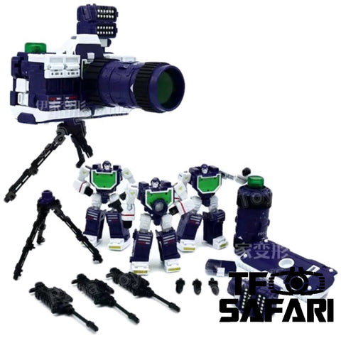Papa Toys PPT01 PPT-01 Camera Squad ( Reflector ) 3 in 1 set 11cm / 4.5""